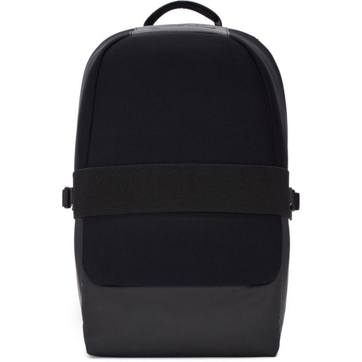 Y-3 -  ブラック ネオプレン カサ バックパック