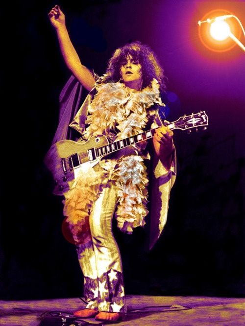 Marc Bolan, T. Rex. Now THAT's glam.