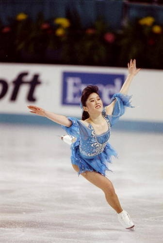 1992 Olympic Champion KristiYamaguchi  Kristi Yamaguchi won the 1992 Olympics. She was the first American woman to win the Olympics in figure skating since 1976.