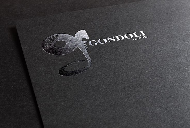 "#Branding #Logo #Identity Check out this @Behance project: ""GONDOLI RECORD"" https://www.behance.net/gallery/41488743/GONDOLI-RECORD"