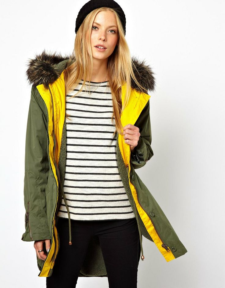#asos  #fakefur #parka #military #style #fashion #cool #bargains #sales