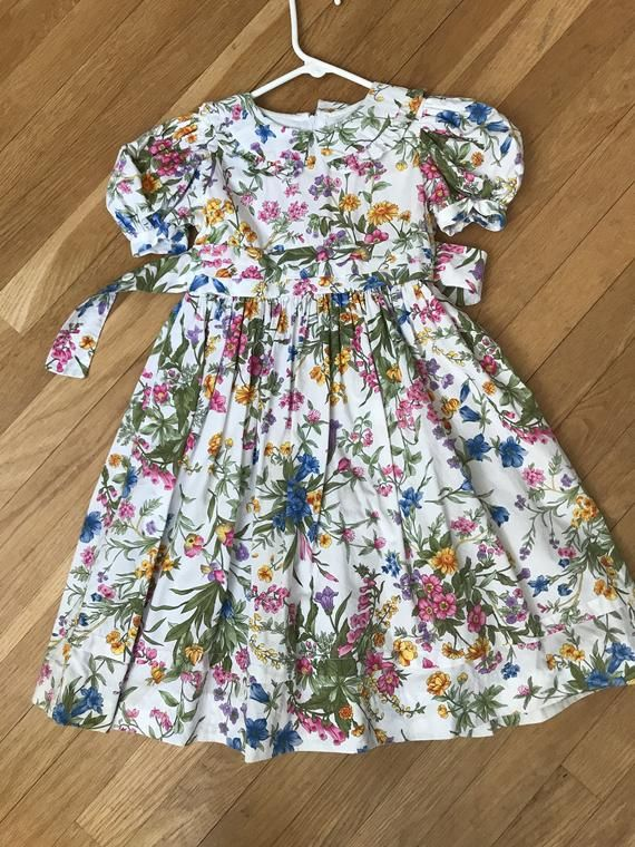 Sylvia Whyte Baby Girl Floral Dress