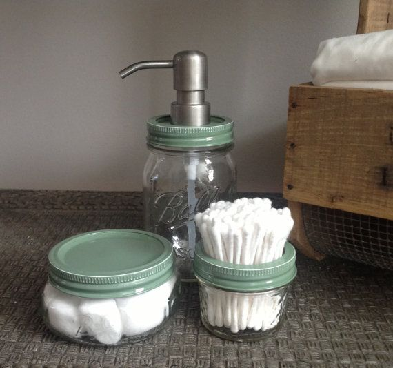 DIY project: https://www.etsy.com/listing/182184376/baby-green-nursery-gift-mason