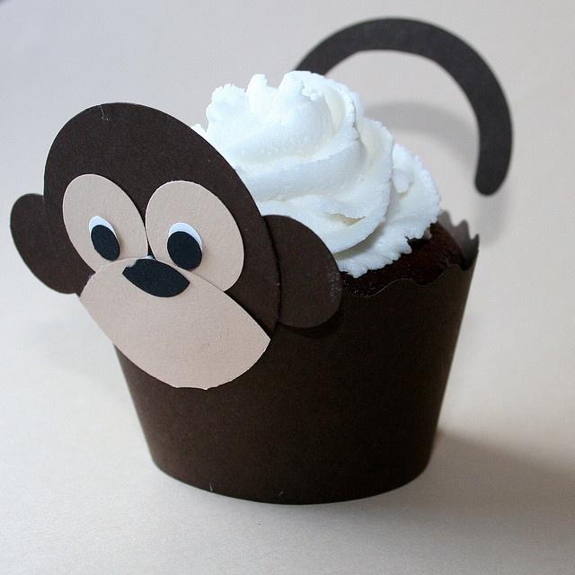 Monkey CupCake Cuppy