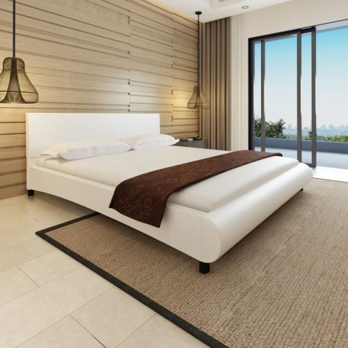 Buy best white Artificial Leather Bed Curved Design 180x200cm + white Mattress from LovDock.com. Buy affordable and quality Beds & Bed Frames online, various discounts are waiting for youhttps://www.lovdock.com/p-272197de.html?aid=C6624