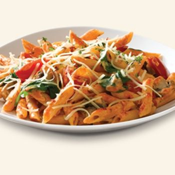Noodles & Company Penne Rosa Recipe-ZipList. My Favorite dinner ever. I serve with parmesan crusted baked chicked, (or grilled) French bread and a salad