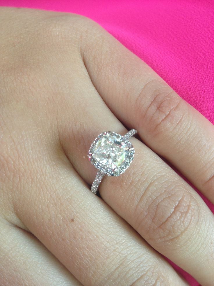 Perfect engagement ring! Love!