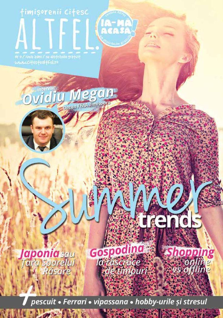 Revista Altfel June 2014 - Altfel magazine