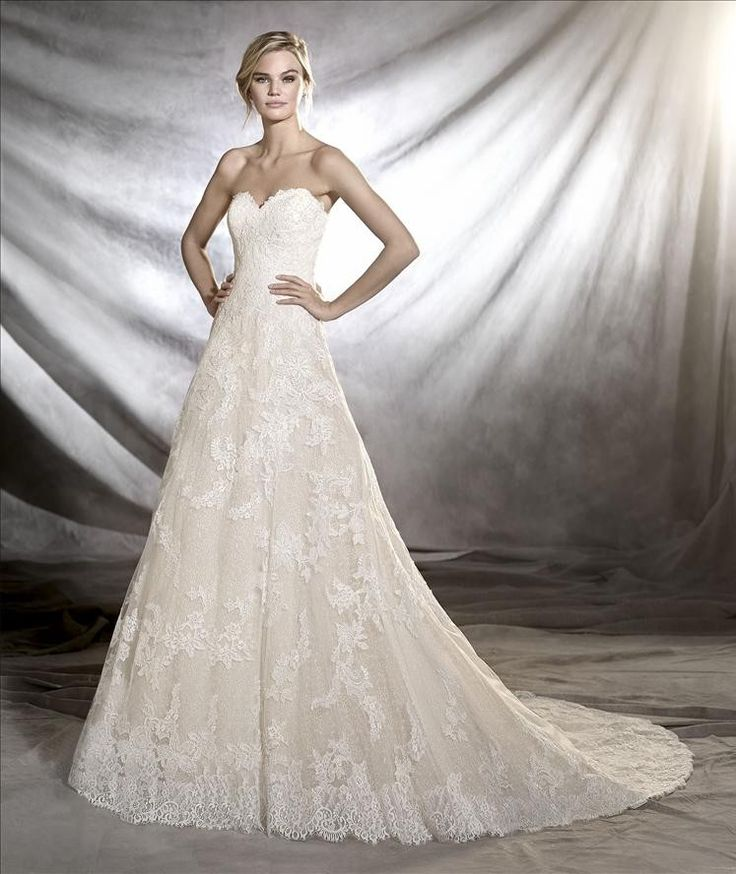 37 best Pronovias In Store Inventory images on Pinterest | Wedding ...
