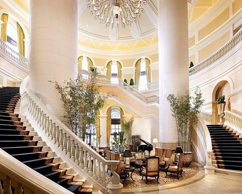 111 best Elegant Hotel Entrance Stair images on Pinterest