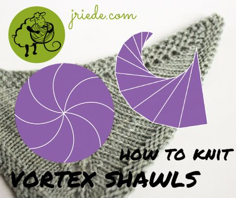 shawl design how to knit vortex shawls