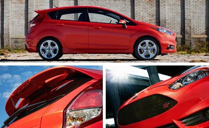 2014 Ford Fiesta ST vs 2014 Fiat 500 Abarth – Fuel economy ratings