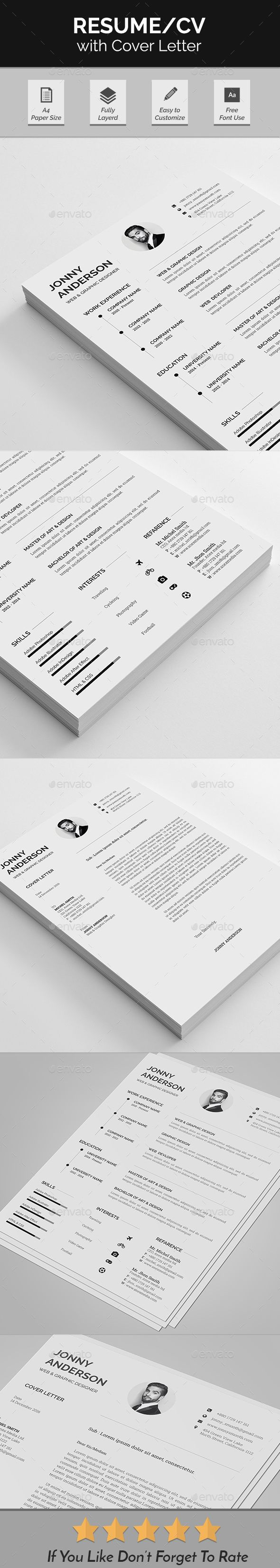 resume cv design template resumes stationery design template psd download here https