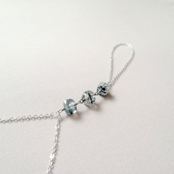 Crystal cubes slave bracelet by LYNGjewelry on Etsy