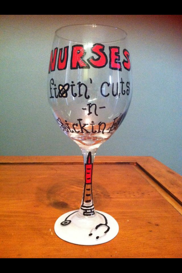 Nurse wine glass nursing student graduation gift https - Graduation gift for interior design student ...