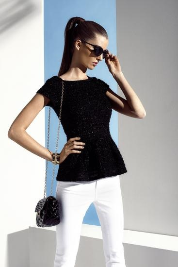 classic and chic black+white