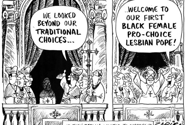 Zapiro: A real Vatican surprise - Mail & Guardian