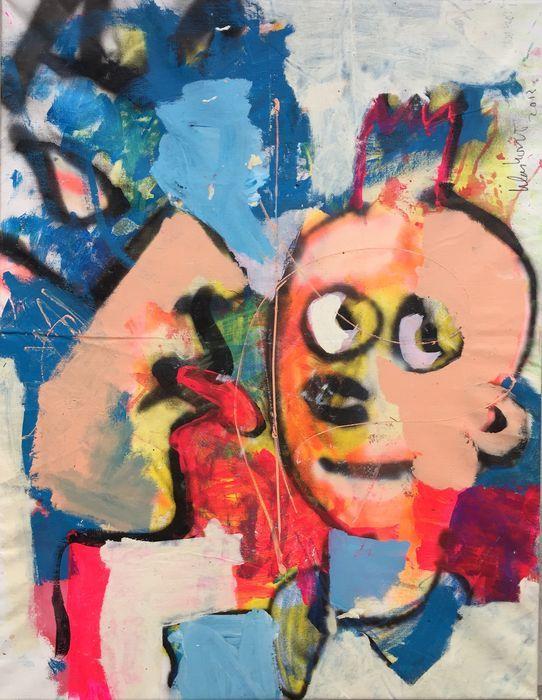 Peter Klashorst - Batman & Wuppy  Acrylverf werk van Peter Klashorst uit 2013. De afmeting van het schilderij is circa 90 x 70 cm. Het doek is reeds voor u opgespannen op een houten frame.De gebruikte techniek is acrylverf op katoen. Let op: Als bewijs van echtheid ontvangt u bij dit originele werk de digitale foto waarop Peter zelf het werk in handen heeft (zie foto 2). Dit is voor u de garantie dat u geen vals werk koopt.  EUR 1.00  Meer informatie