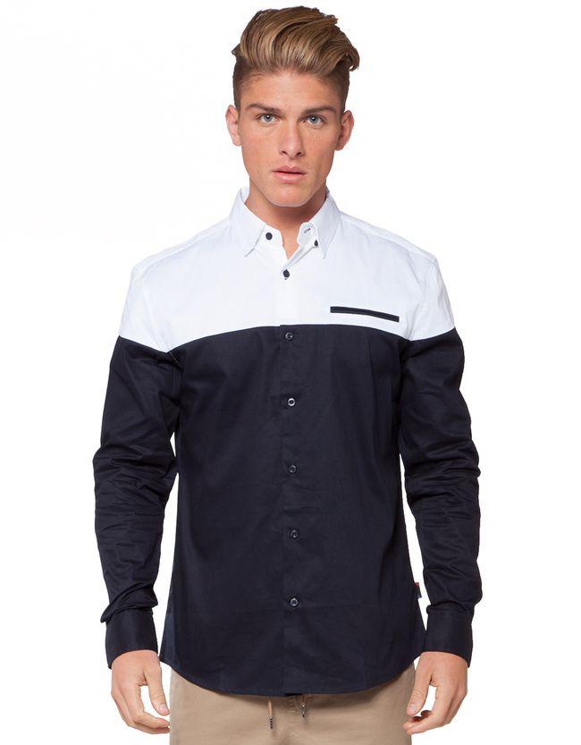 IFD Duo Long Sleeve Shirt | Men's Shirts | Hallenstein Brothers