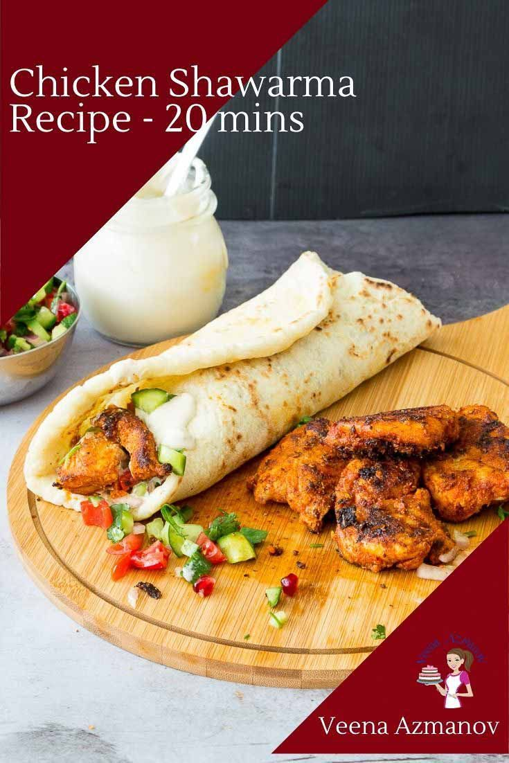 Oven Roasted Chicken Shawarma Recipe From The Weeknight Mediterranean Kitchen Cookbook In 2021 Spices