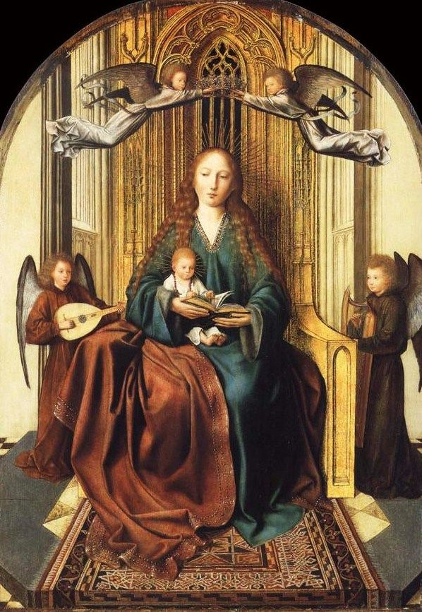 Attributed to Quinten Metsys (Netherlandish painter, 1466-1530) Madonna and Child