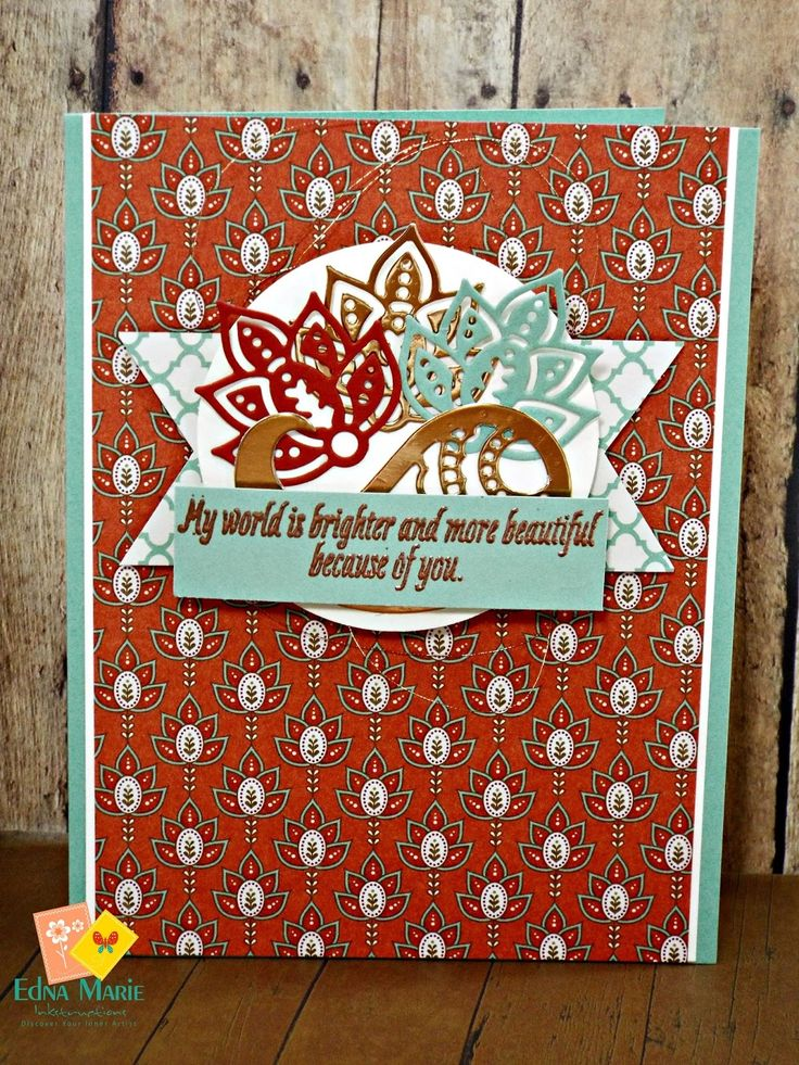 Pretty Paper and Pretty Copper Oh My!  Good Thursday Inkers! I want to share one…
