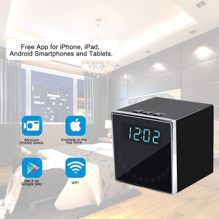 Cheapest prices US $58.39  2017 NEW Clock Model 140 degrees 1080P WIFI IP IR Night Vision Mini camera DVR CAM Support IOS Android Remote  #Clock #Model #degrees #WIFI #Night #Vision #Mini #camera #Support #Android #Remote  #Camera-2018