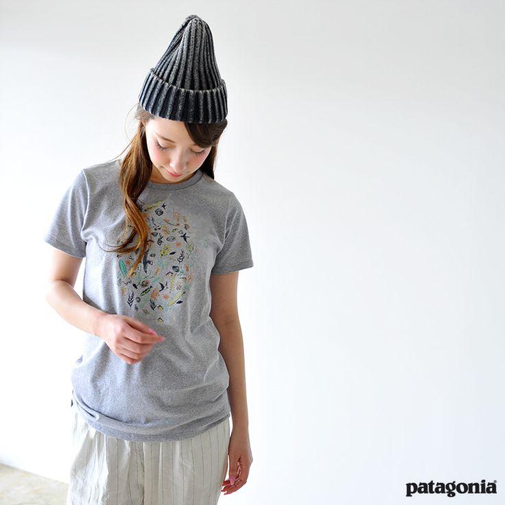 【楽天市場】patagonia パタゴニア Sea Doodle Recycled Cotton/Poly Responsibili-Tee シードゥードルクルーネックカットソー プリント 半袖 Tシャツ・38901【2016春夏】【メール便可】【クーポン対象外】:Crouka(クローカ)