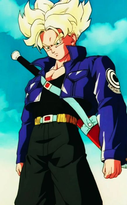 I still think Future Trunks's entrance to the show was one of the most epic entrances of any of the Dragonball Z Characters. #SonGokuKakarot