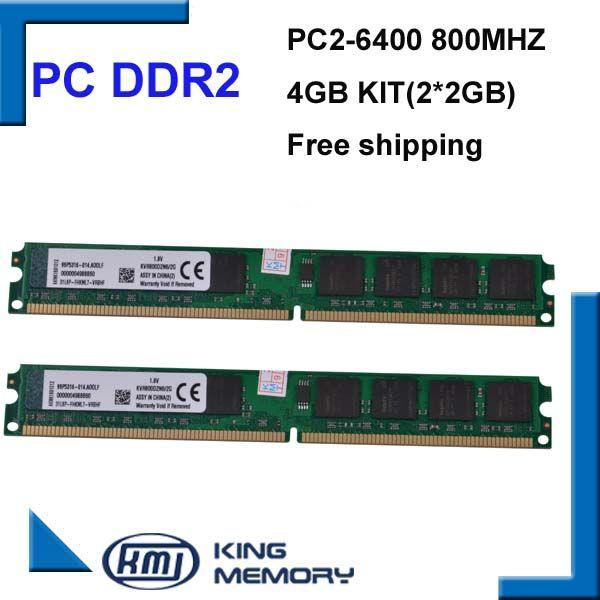 DDR2 800Mhz 4GB KVR800D2N6/2G (Kit of 2,2X 2GB for Dual Channel) PC2-6400 Brand New DIMM Memory Ram For desktop computer Nail That Deal http://nailthatdeal.com/products/ddr2-800mhz-4gb-kvr800d2n62g-kit-of-22x-2gb-for-dual-channel-pc2-6400-brand-new-dimm-memory-ram-for-desktop-computer/ #shopping #nailthatdeal