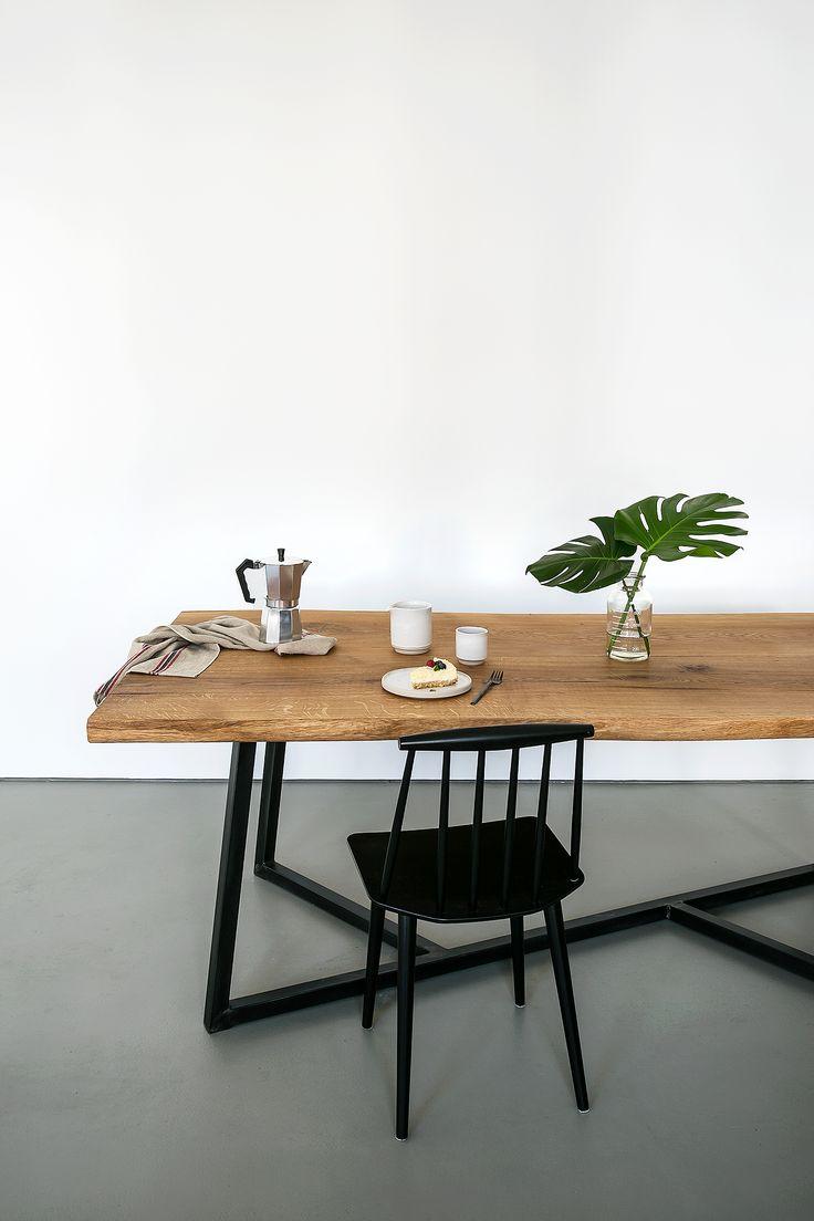 22 besten holztisch bilder auf pinterest wohnideen neue for Wohnung tisch