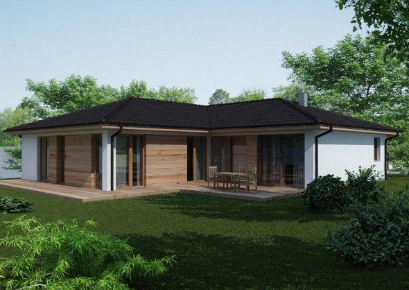 projekt domu Bungalov 1006 1