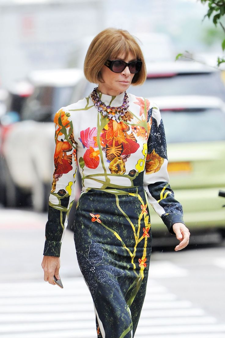 Anna Wintour 2016 | ANNA WINTOUR Out in New York 06/16/2016 - HawtCelebs - HawtCelebs