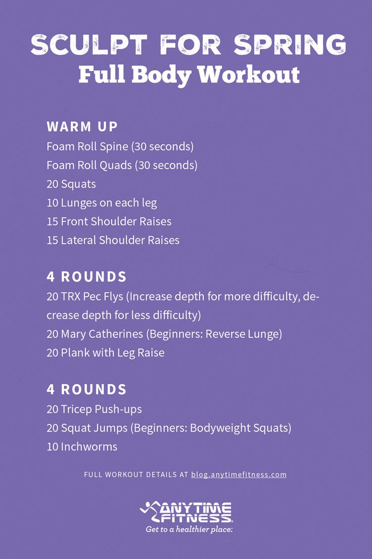 workout-wednesday-sculpt-spring | Workouts | Wednesday ...