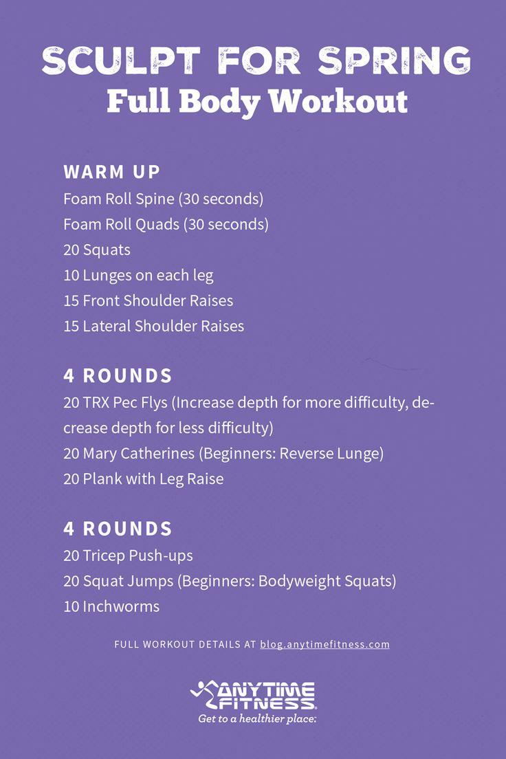 workoutwednesdaysculptspring  Workouts  Wednesday