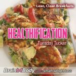 How you start your day can set the tone for the day to come. I'm a huge advocate of starting as you mean to continue – with a reference point for success – proof to yourself that looking after your body is a high priority. http://www.brainb4body.com/097-tuesday-tucker-lean-clean-breakfasts/