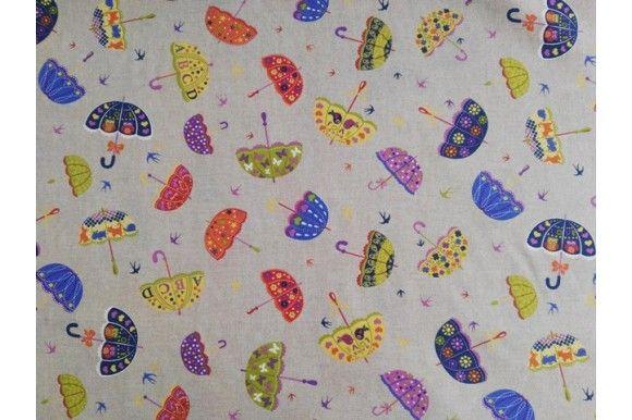 Loneta estampada de paraguas, empleada para diversas labores como cortinas, estores, tapizado de sofás, fundas para cojines..., tela con cuerpo, gruesa y resistente. Fácil lavado y planchado.#loneta #estampado #paraguas #labores #tapizado #estores #sofás #cojines #confección #manteles #disfraces #medieval #carnaval #resistente #tela #telas #tejido #tejidos #textil #telasseñora #telasniños #comprar #online #comprartelas #compraronline