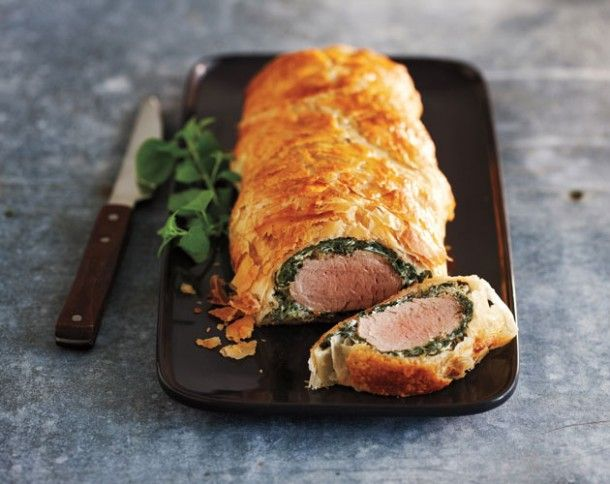 Who's hungry? Impress your guests this weekend with this Creamy Spinach Pork Wellington recipe from Bake Fest.