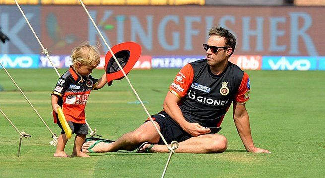 Bengaluru: Royal Challengers Bangalore have always been known for their mascots and ambassadors adorning and cheering their team from the balcony. AB de Villiers had to miss the first two games of RCB due to a back trouble he sustained while playing in the Momentum Cup 2017 back in South Africa....