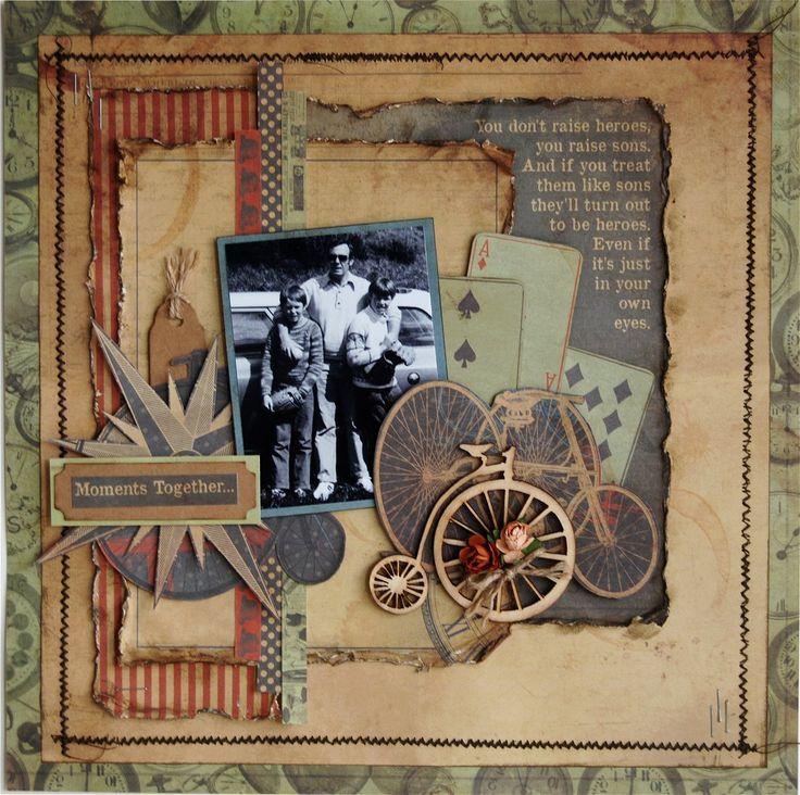221 best Scrapbooking---Vintage/Heritage images on Pinterest ...