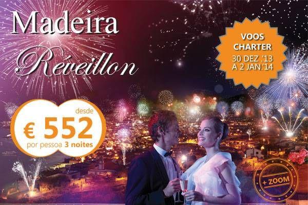 Oferta de viagem Madeira - Super Oferta R�veillon 2013/2014