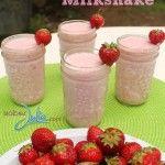 Skinny Raspberry Milkshake Recipe - Sober Julie