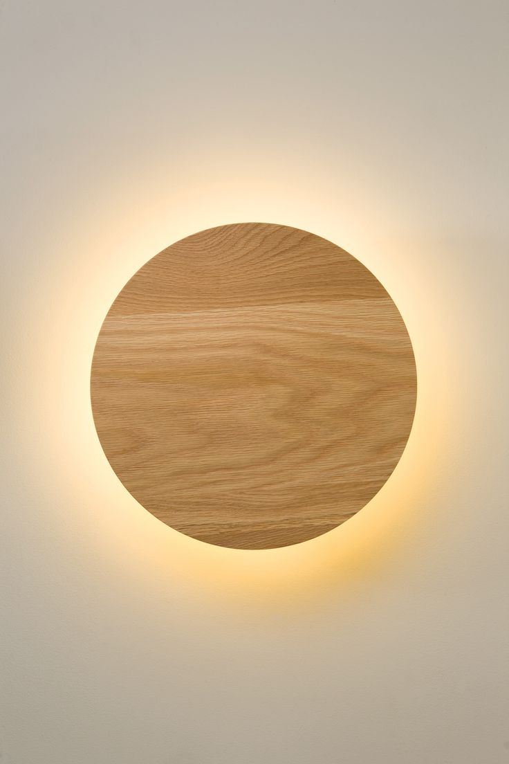 Circular wall light