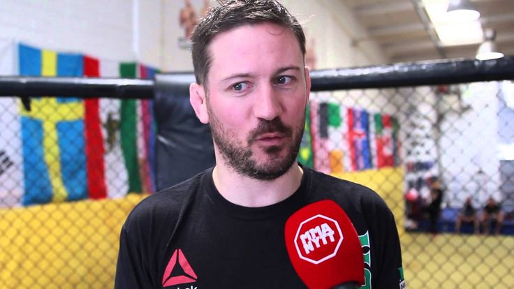 """Straight Blast Gyms founder and head coach John Kavanagh """"Fighting is in..."""