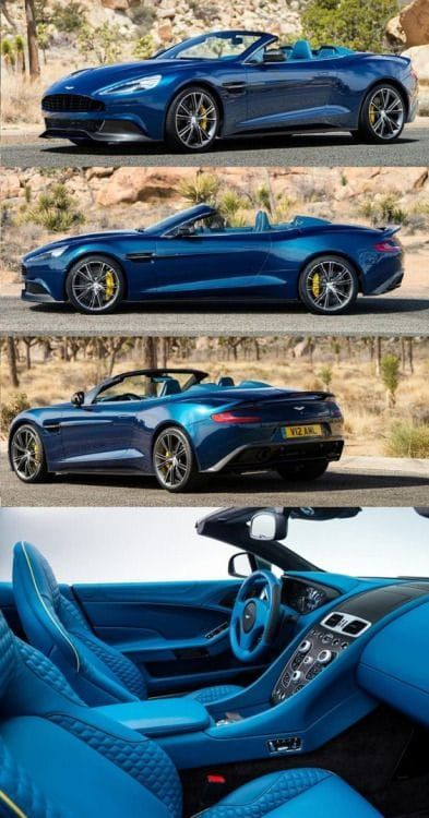 MUST SEE '' Aston Martin Vanquish Volante '' Future 2017 Cars Design Concepts & Photos
