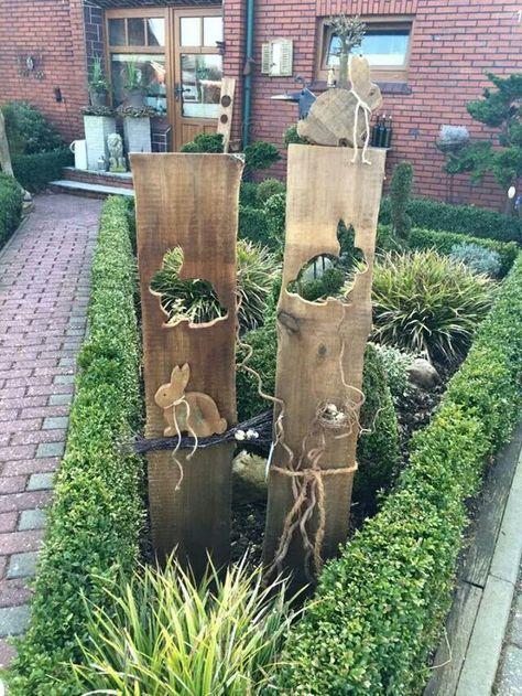 Die Besten 25+ Osterdeko Aus Holz Ideen Auf Pinterest | Osterhasen