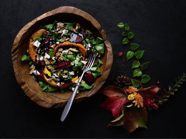 Podzimní salát s dýní a řepou 2 Foto: