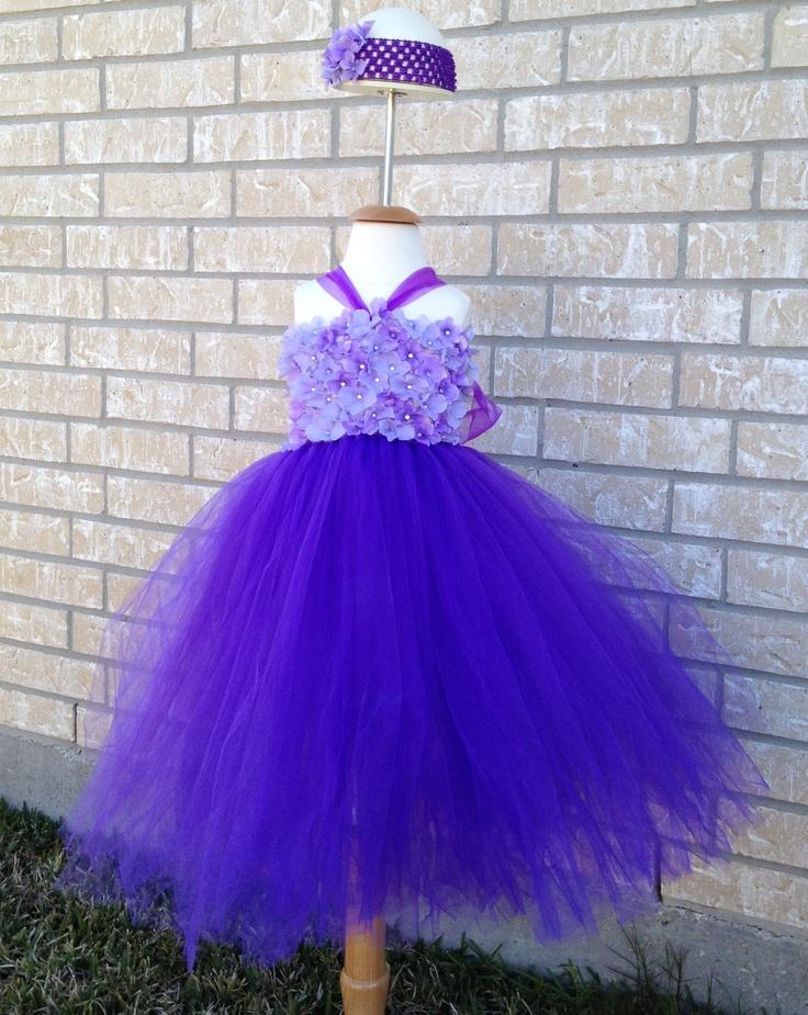 Hydrangea Princess Tutu Dress
