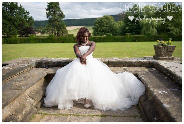 Bride portrait at Gisborough Hall Hotel #GisboroughHall #Wedding