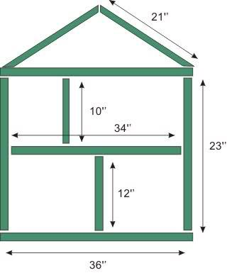 Simple Dollhouse Plans Free - Downloadable Free Plans